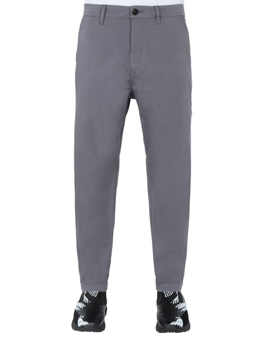 STONE ISLAND SHADOW PROJECT 30408 WIDE PANTS TROUSERS Man Gray