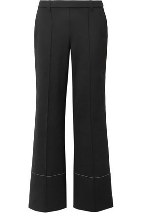 THE ROW Neoprene wide-leg pants
