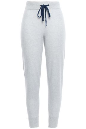 DUFFY Cashmere track pants