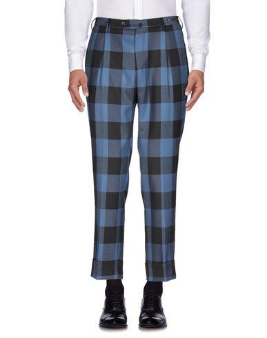 Фото 2 - Повседневные брюки от PT01 синего цвета