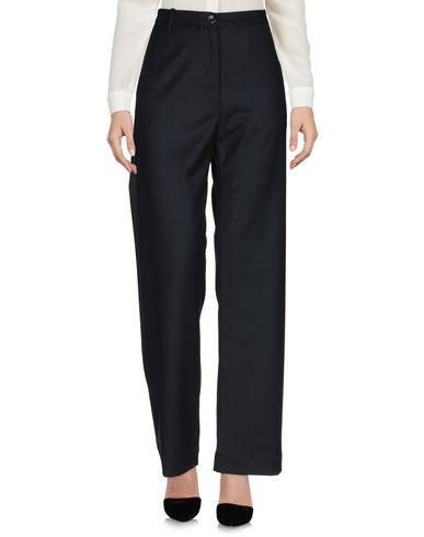 Фото 2 - Повседневные брюки от NINE:INTHE:MORNING темно-синего цвета