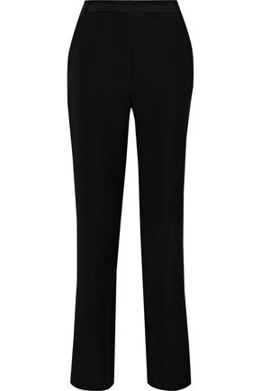 IRIS & INK Oglesby crepe straight-leg pants