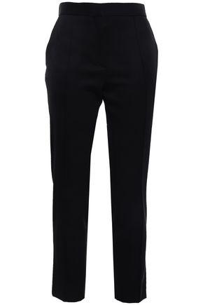 IRO Devotion cropped grain de poudre wool slim-leg pants