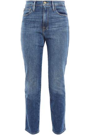 GOOP x FRAME High-rise skinny jeans
