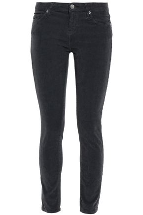 IRO Stretch cotton-corduroy slim-leg pants