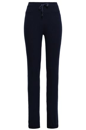 WILDFOX Oxford brushed-jersey track pants