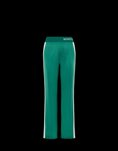 CASUAL TROUSER Green Category Casual trousers