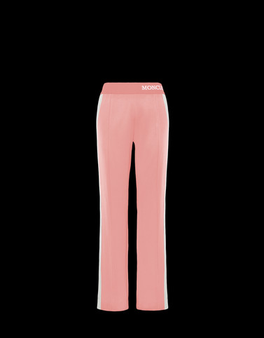 CASUAL PANTS Pink Pants Woman