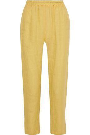 MANSUR GAVRIEL Linen tapered pants