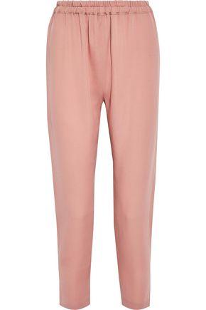 MANSUR GAVRIEL Silk crepe de chine track pants