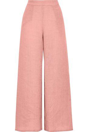 MANSUR GAVRIEL Linen wide-leg pants