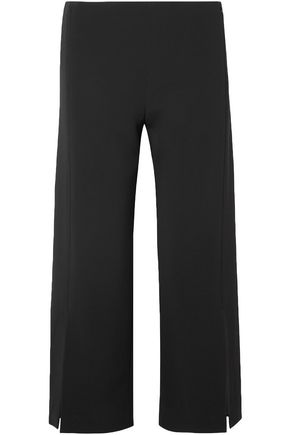 THE ROW Paber cropped cady wide-leg pants
