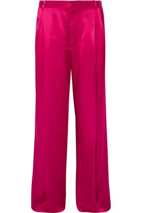 GIVENCHY Satin wide-leg pants