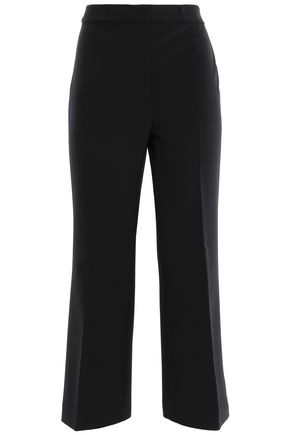 KATE SPADE New York Cropped crepe straight-leg pants