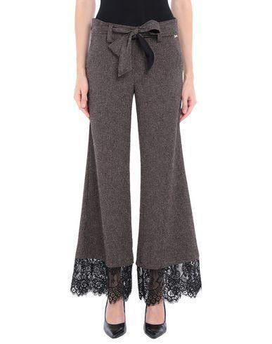 Фото - Повседневные брюки от ANISYA® IS темно-коричневого цвета