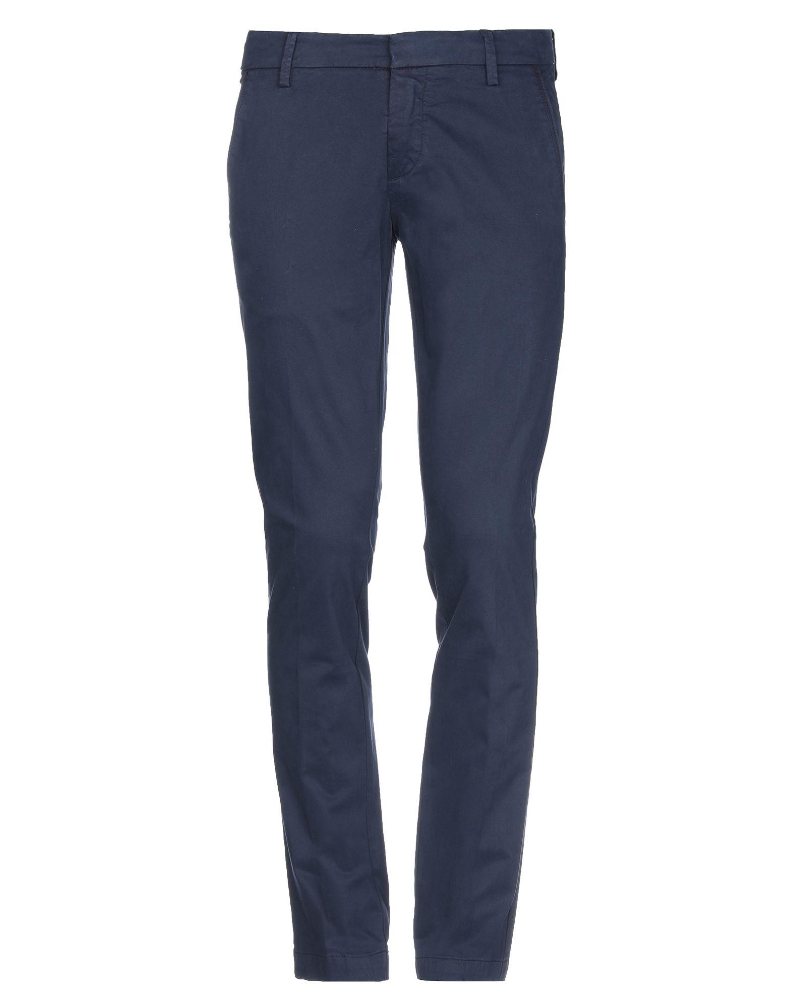 《期間限定セール開催中!》DOUBLE EIGHT メンズ パンツ ブルー 46 コットン 97% / ポリウレタン 3%
