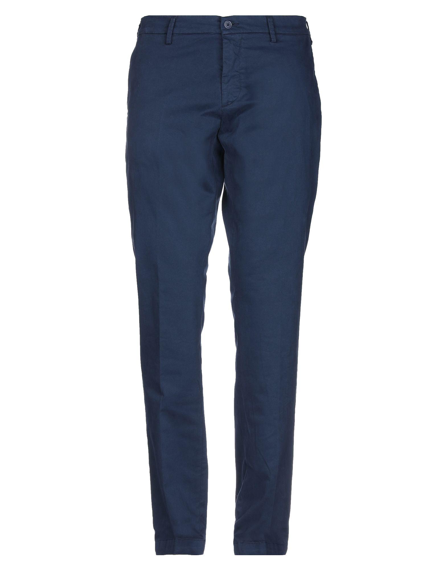 《期間限定セール開催中!》DOUBLE EIGHT メンズ パンツ ダークブルー 46 コットン 97% / ポリウレタン 3%