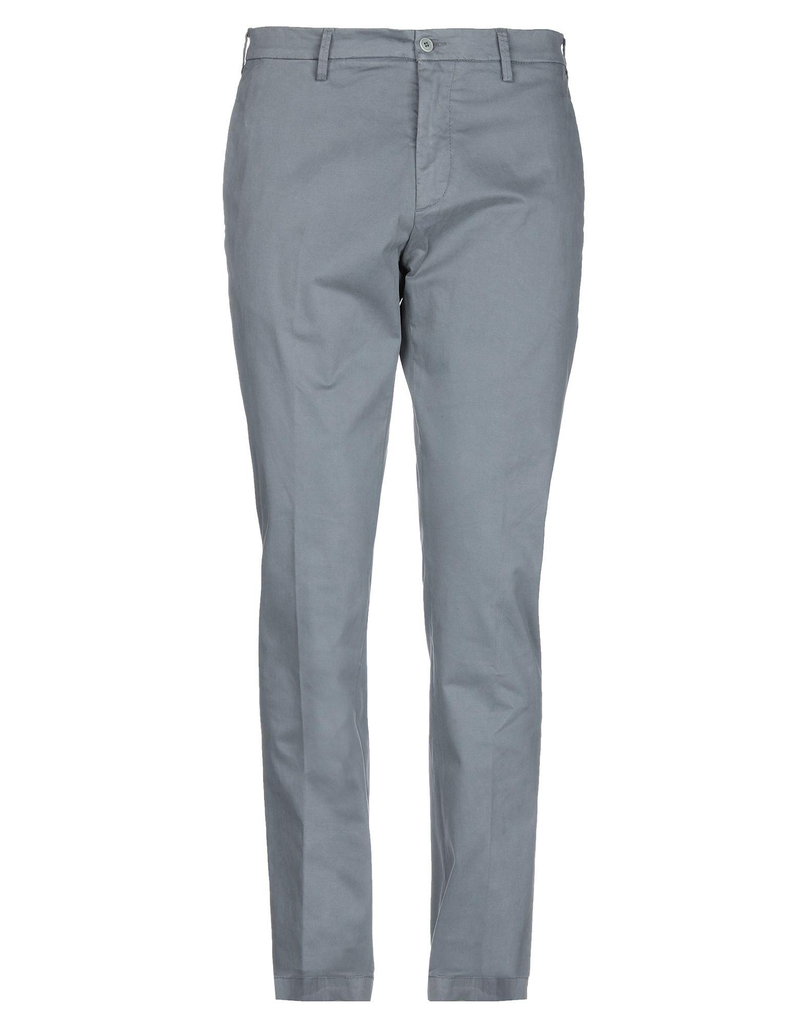 《期間限定セール開催中!》DOUBLE EIGHT メンズ パンツ グレー 52 コットン 97% / ポリウレタン 3%