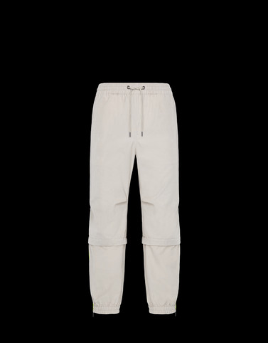 ATHLETIC TROUSERS Ivory Category Casual trousers Man