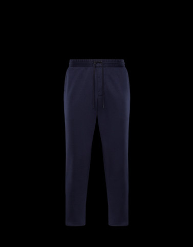 CASUAL TROUSER Dark blue Category Casual trousers Man