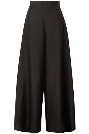 THE ROW Silk wide-leg pants