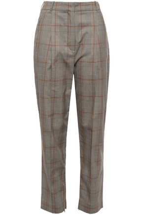 ZIMMERMANN Stretch-cotton tapered pants