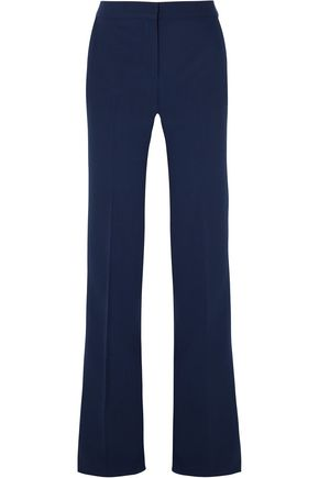 EMILIO PUCCI Wool-blend crepe flared pants