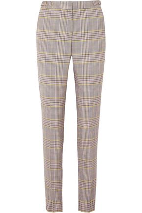 GABRIELA HEARST Checked wool-blend slim-leg pants