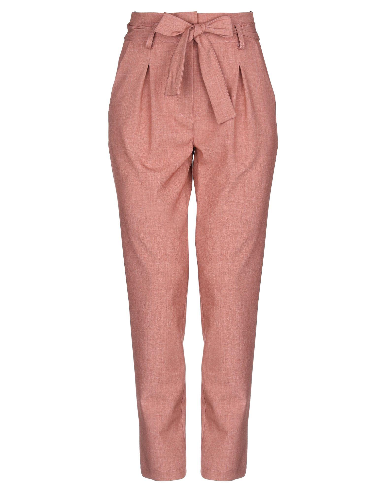 PAOLA PRATA Повседневные брюки брюки paola klingel цвет сливовый