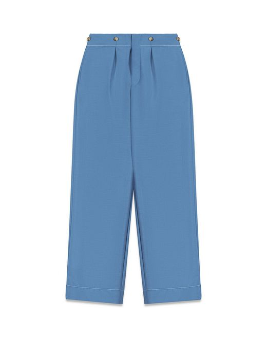 CROPPED TAILORED TROUSERS - Lanvin
