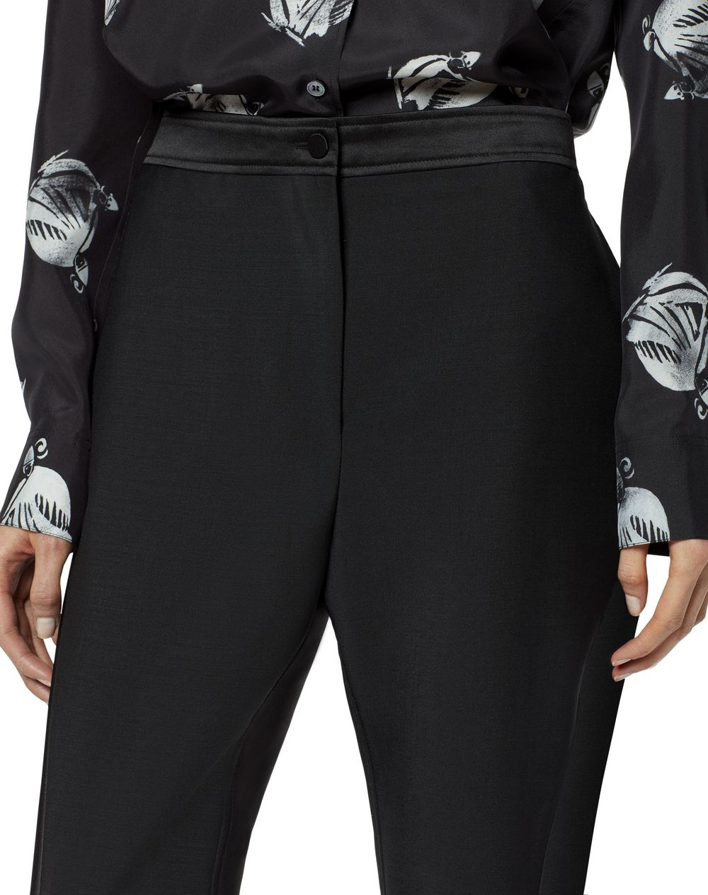 SATIN BAND PANTS - Lanvin