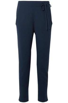 AKRIS Cashmere-blend felt track pants