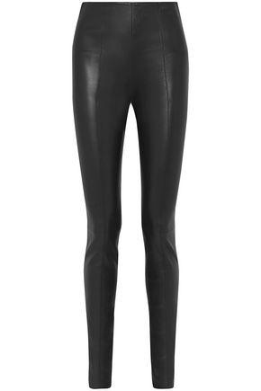 THE ROW Hailen stretch-leather leggings