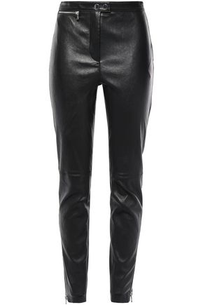 3.1 PHILLIP LIM Stretch-leather skinny pants