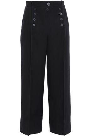 3.1 PHILLIP LIM Cropped wool-twill wide-leg pants