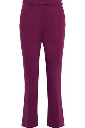ETRO Cropped stretch-cotton bootcut pants