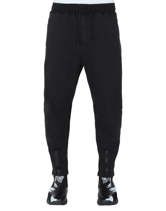 STONE ISLAND SHADOW PROJECT 60606 INVERT SWEATPANTS TROUSERS Man Black