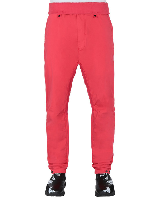 STONE ISLAND SHADOW PROJECT 30105 EXTENDED WIDE PANTS TROUSERS Man Red