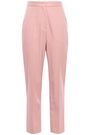 EMILIO PUCCI Cropped stretch wool-crepe straight-leg pants