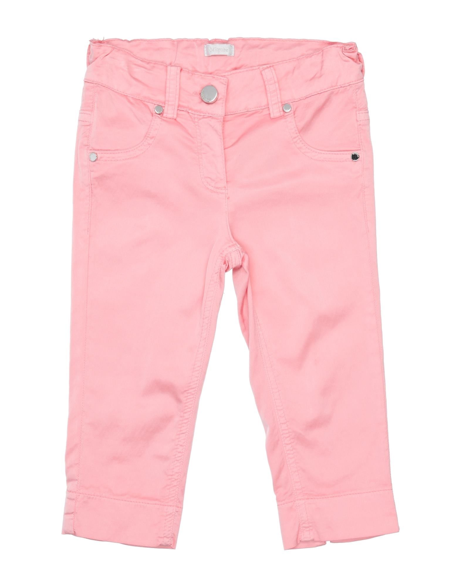 Microbe By Miss Grant Kids' Casual Pants In Pink