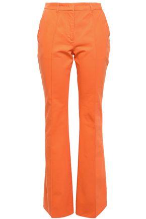 ETRO Cotton-twill bootcut pants