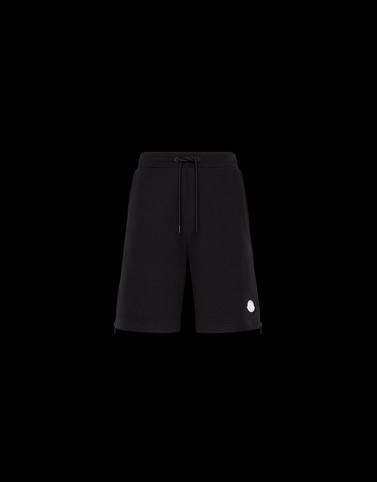 BERMUDA Black Trousers