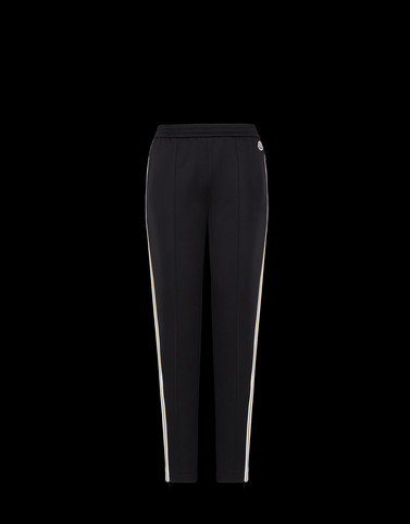 CASUAL TROUSER Black Category Casual trousers Woman