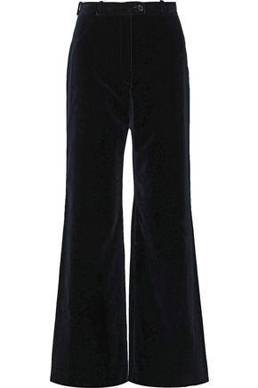 ACNE STUDIOS Cotton-velvet wide-leg pants