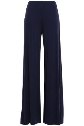 M MISSONI Stretch-jersey wide-leg pants