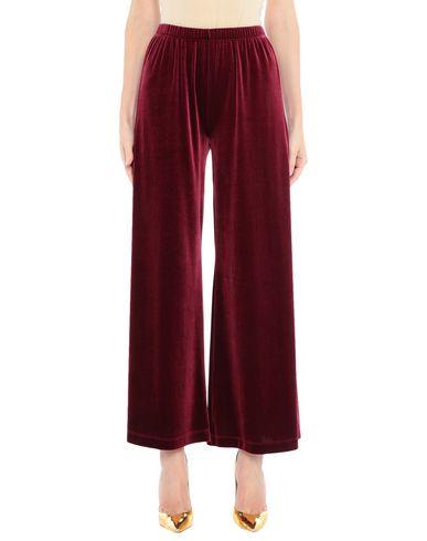 Купить Повседневные брюки от CARLA G. красно-коричневого цвета
