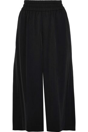 ACNE STUDIOS Imri gathered twill culottes
