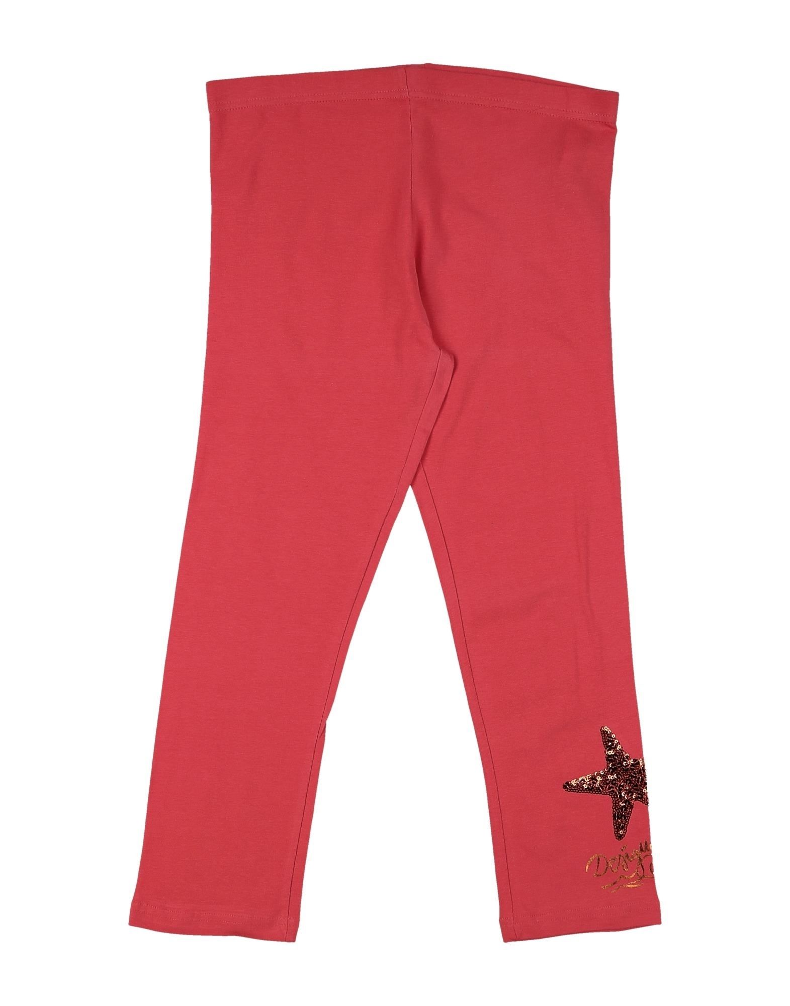 Desigual Kids' Leggings In Red