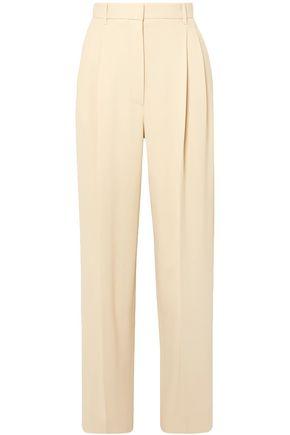 THE ROW Crepe wide-leg pants