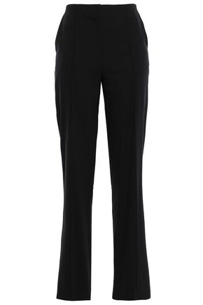 DIANE VON FURSTENBERG Stretch-wool straight-leg pants